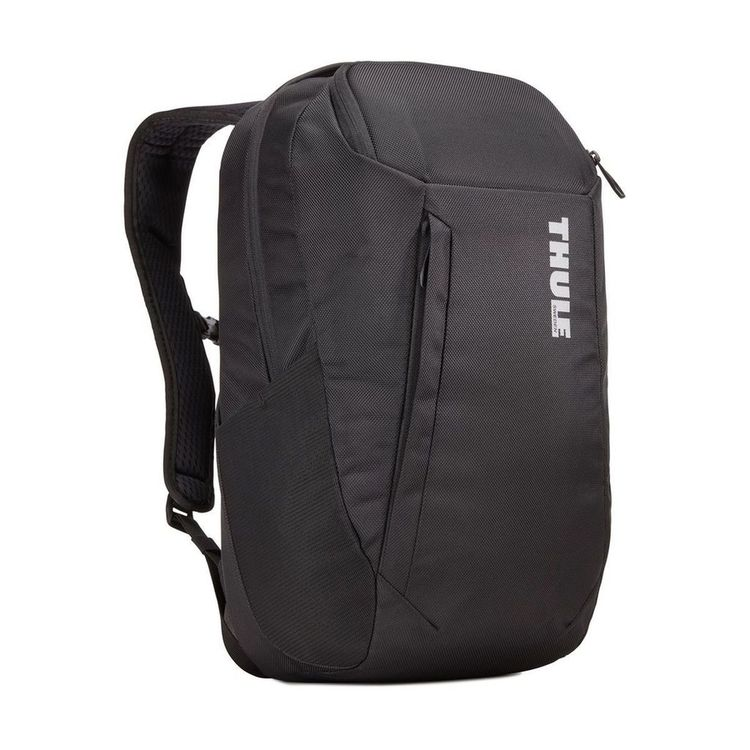 A modern, professional backpack with electronics protection and versatile SafeZone compartment for valuables.