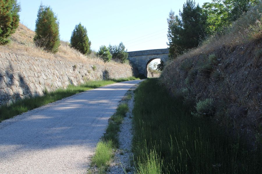 Route Jaen Hiking Martos Via Verde Del Aceite