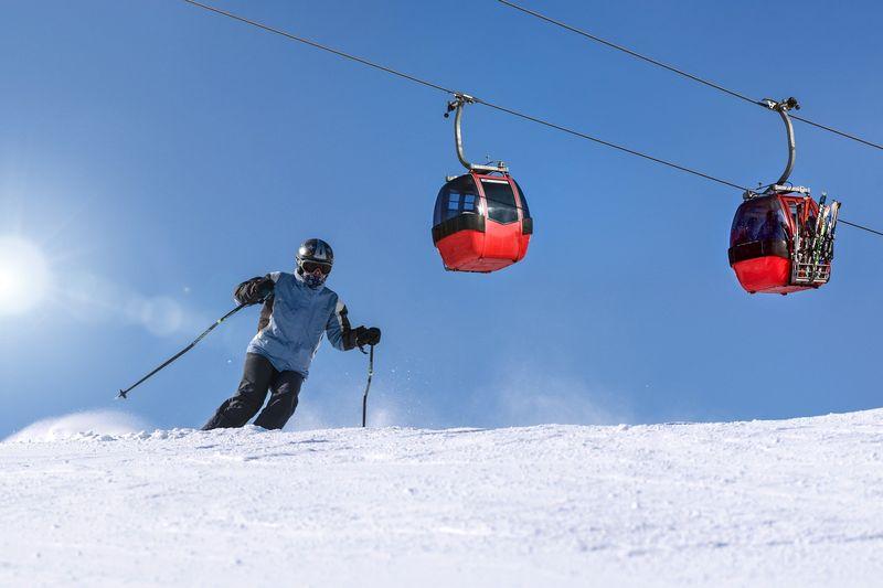 ski-slope