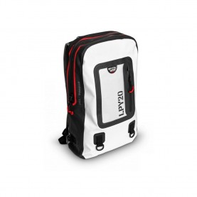 LaPLAYA Backpack 20 blanco/negro