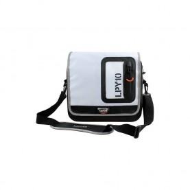 LaPLAYA Messenger bag 10 negro/blanco